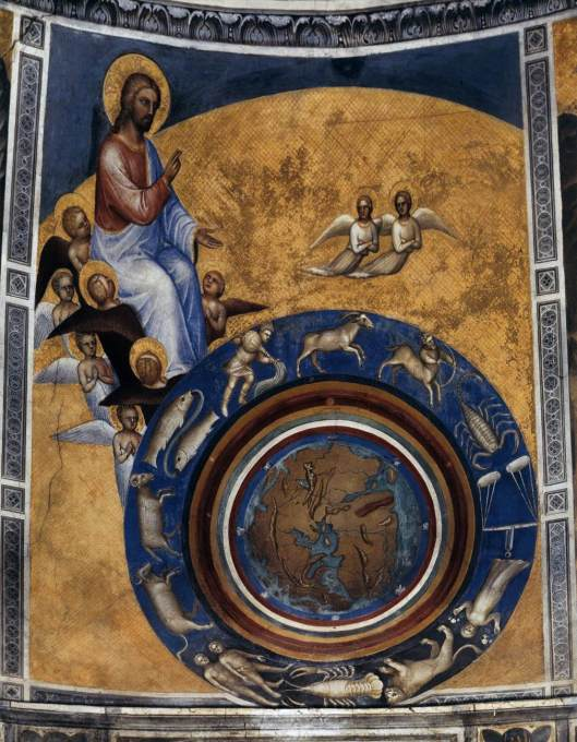 Padova-Baptistery-The Creation of the World