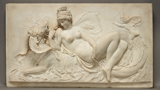 John Deare  Venus, cupid and a sea monster