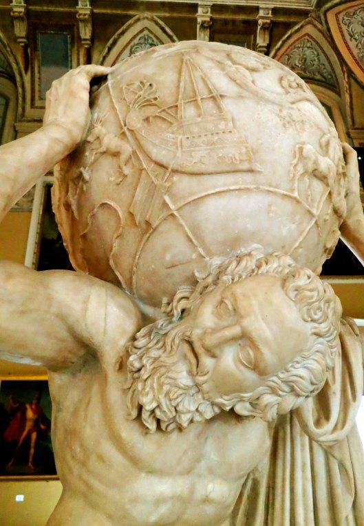 atlas-Archeological Museum of Naples